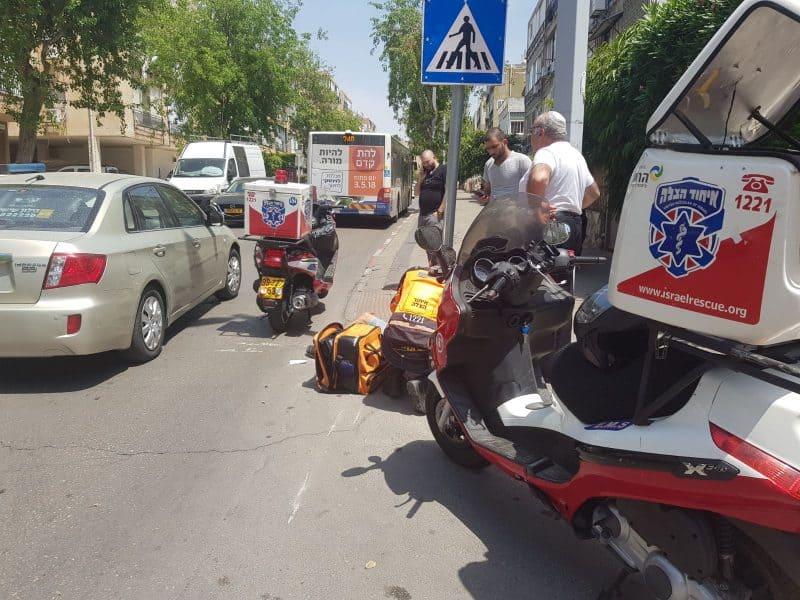 פינוי רוכב האופנוע