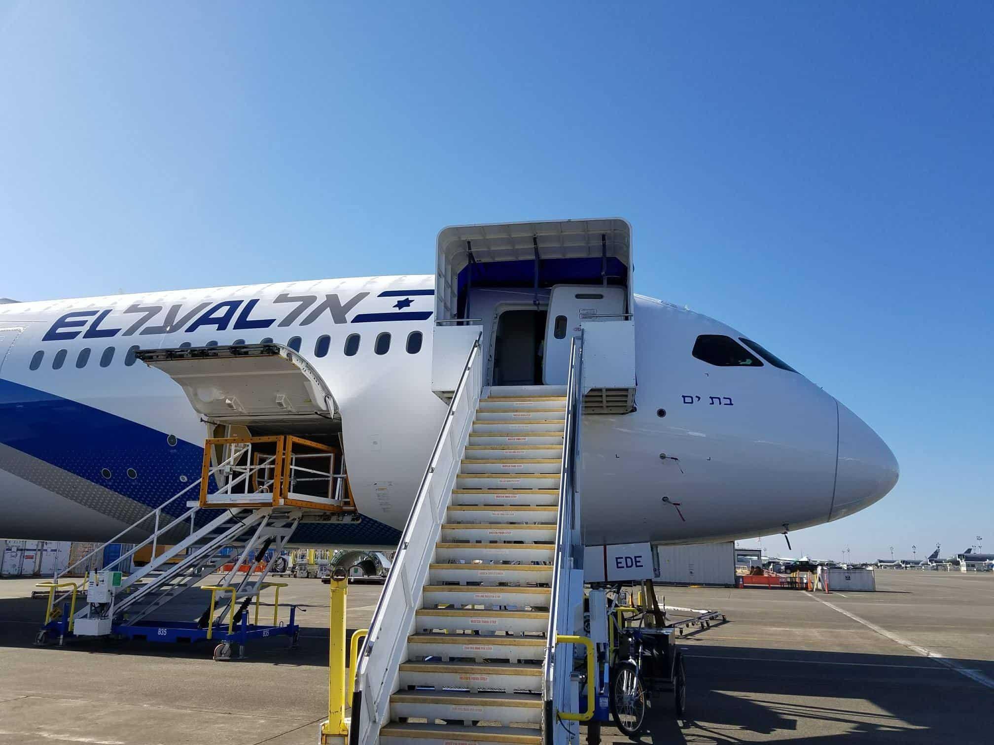 המטוס הקרוי על שם העיר, צילום: Joe Palmieri, באדיבות דוברות עיריית בת ים