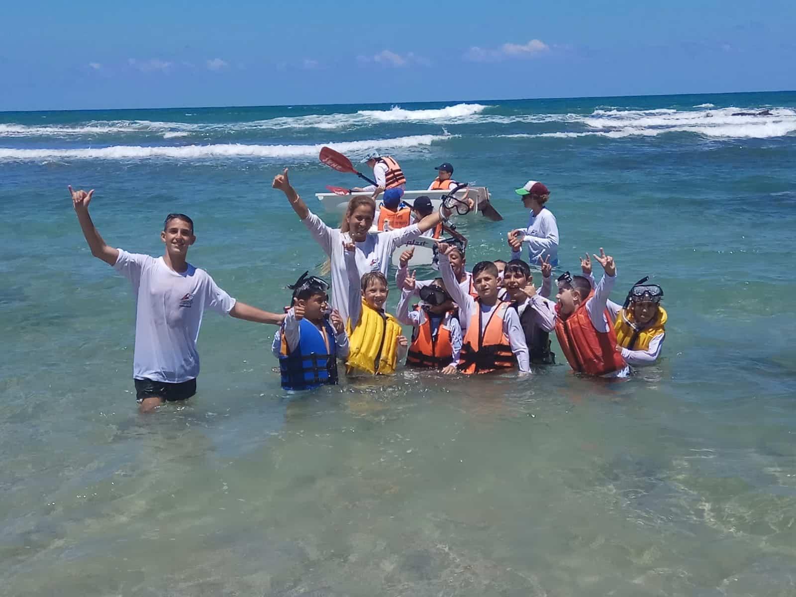 קייטנת הגלישה בבת ים, צילום: פרטי