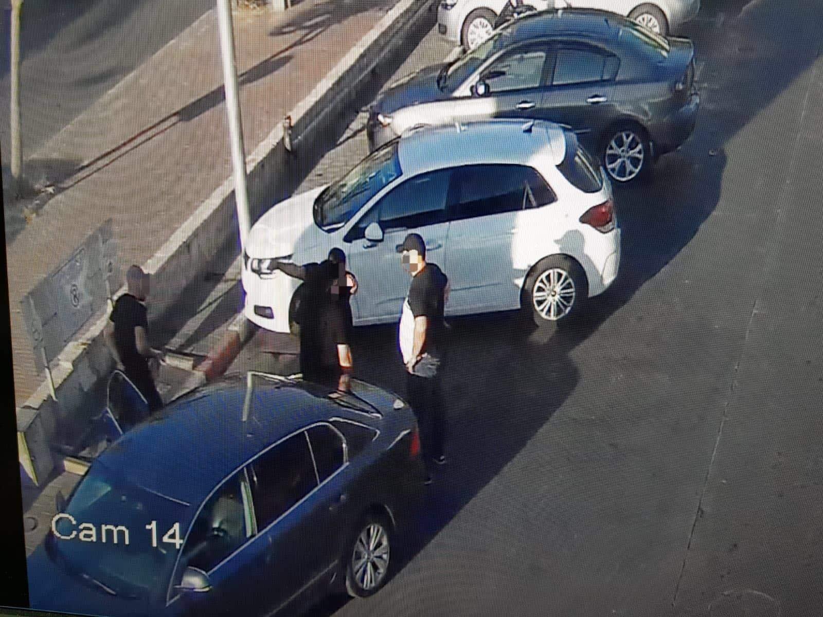 מפגש יזום בין הקורבן למעורבים, צילום: משטרת ישראל