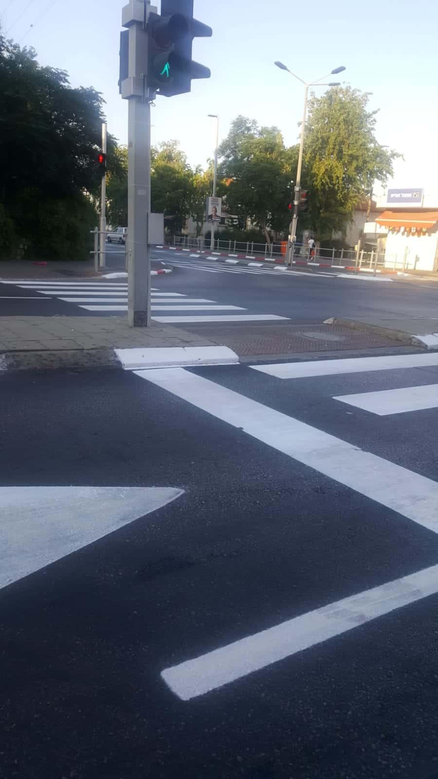 עבודות לסימוני כבישים