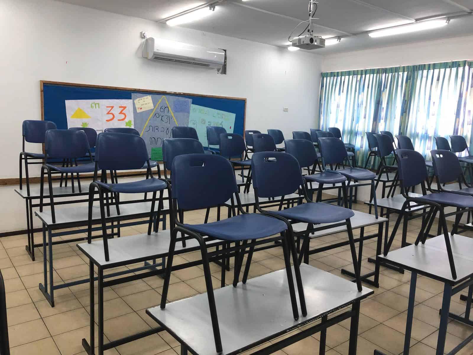 השביתה בבית הספר
