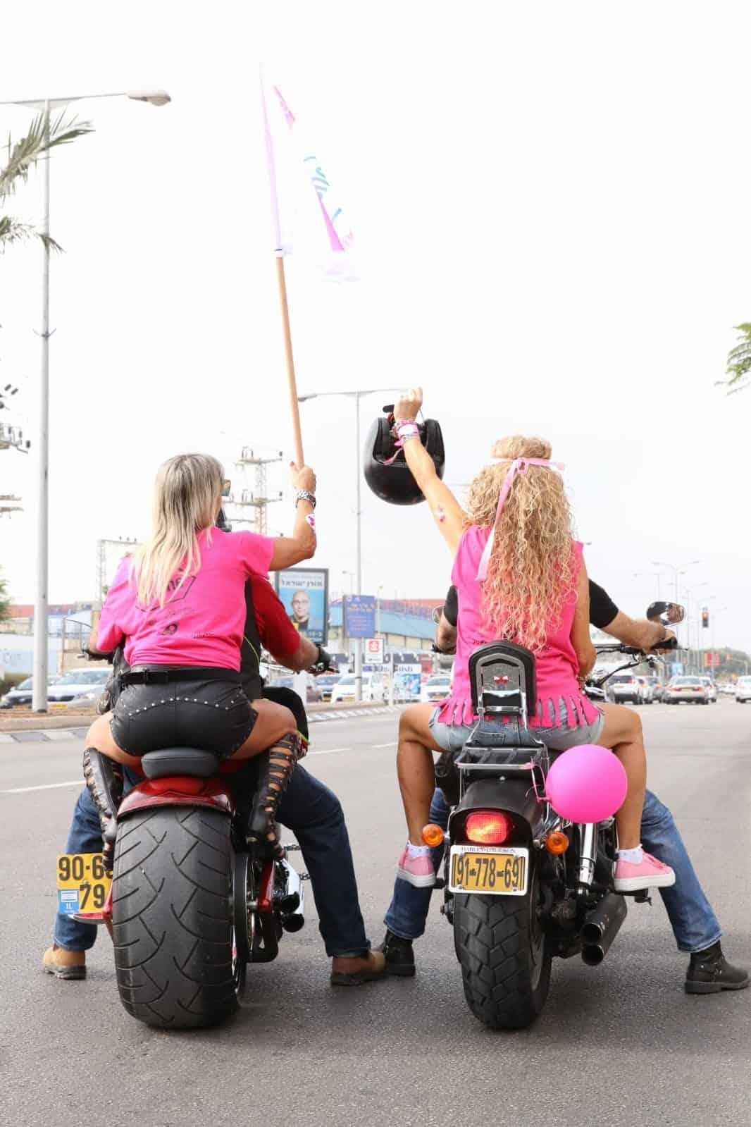 רוכבות לניצחון - לרגל חודש המודעות הבינלאומי לקידום המאבק בסרטן השד