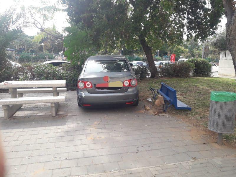 הרכב הפוגע בזירה