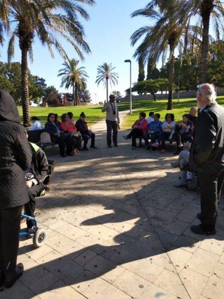 סיור מודרך לדור תשח לרגל חודש האזרח הוותיק, צילום-עיריית חולון