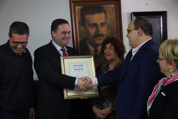 """בני משפחתו של אלי כהן ז""""ל , צילום: יואב פלי"""