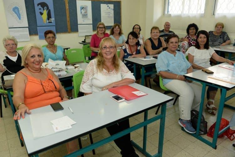 כיתת ותיקים בבית הספר אילון בחולון, צלם-טל קירשנבאום